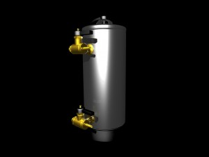 water softener, computer generated image